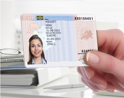 Work-and residence permit European Union Blue Card